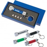 Promotional LED Multifunctional Camping Light Key Chain