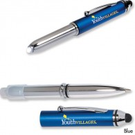 Multi-Function Ballpoint Pen/Stylus/Light