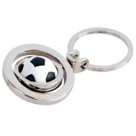 Promo Ball Metal Frame Key Chain