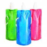 Promotion Reusable Folding Sport Drinking Bottle Bag