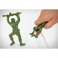 Promotional army man beer bottle opener
