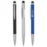 Advertising Custom Logo Stainless Steel Barrel Ballpoint Pen