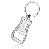 Stylish Curvy Bottle Opener Key Chain