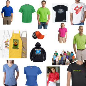 Customize your logo on promotional apparel online