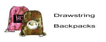 Promotional Drawstring Backpacks