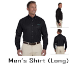 Custom Long Sleeve Men's Shirt