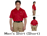 Custom Short Sleeve Men's Shirt