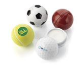 Football Shape Lip Balm