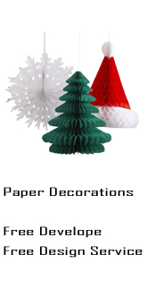 Paper Decorations, Promotional Paper Items, Sunrise Paper Decorations