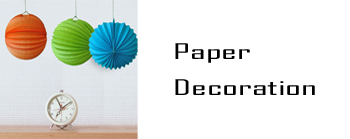 Promotional Paper Decorations, Sunrise Paper Decorations